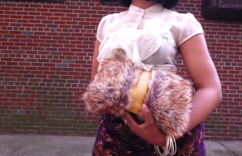 Flowers & Fur with the Alicia Clutch