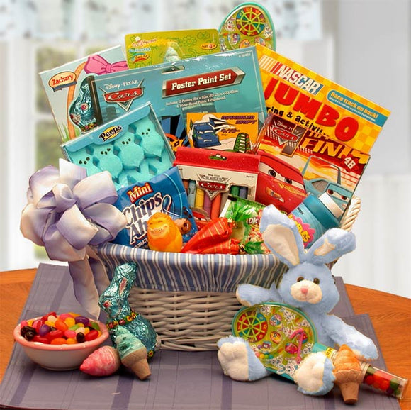 Disney Fun and Activity Easter Basket - Fine Gifts La Bella Basket Company