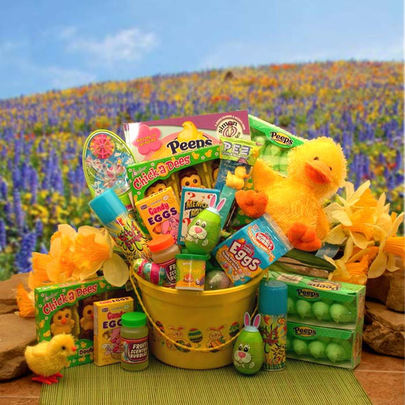 Duckadoodles Easter Fun Pail - Fine Gifts La Bella Basket Company