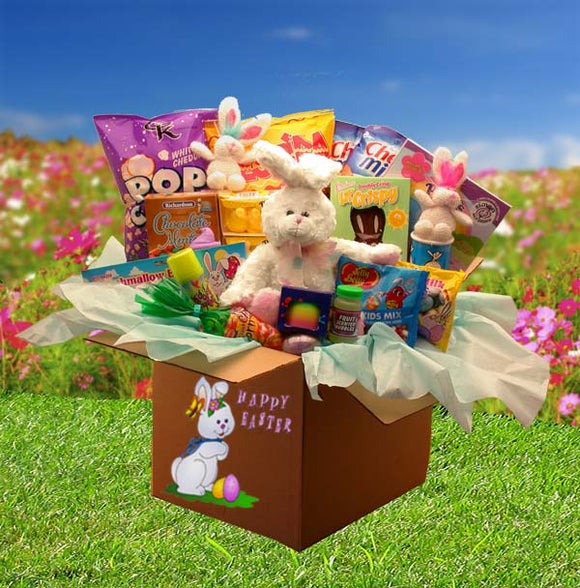 Family Fun Easter Care Package - Fine Gifts La Bella Basket Company
