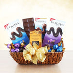 The Godiva Sampler Gift Basket - Fine Gifts La Bella Basket Company
