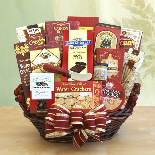 For the Whole Gang Gift Basket - Fine Gifts La Bella Basket Company