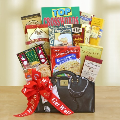 Get Well Wishes - Fine Gifts La Bella Basket Company