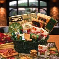 The Gourmet Choice Gift Basket - Fine Gifts La Bella Basket Company