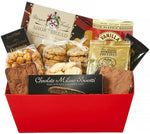 Gourmet Classic Gift Tray - Fine Gifts La Bella Basket Company