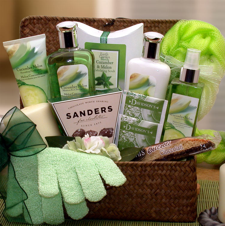 Serenity Spa Gift Chest - Fine Gifts La Bella Basket Company