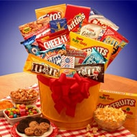 Junk Food Superbowl Madness - Fine Gifts La Bella Basket Company