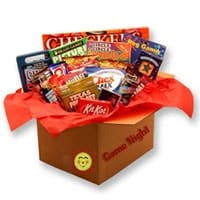 Game Night Care Package - Fine Gifts La Bella Basket Company