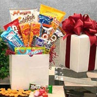 Snack Care Package - Fine Gifts La Bella Basket Company