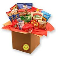 Healthy Choices Deluxe Care Package - Fine Gifts La Bella Basket Company