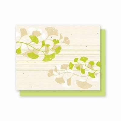 All Occasion Ginkgo Plantable Greeting Cards - Fine Gifts La Bella Basket Company