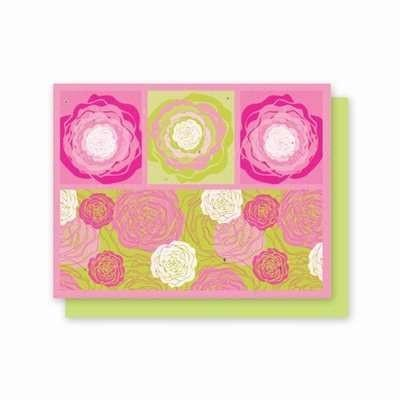 All Occasion Hot Pink Flora Plantable Greeting Cards - Fine Gifts La Bella Basket Company