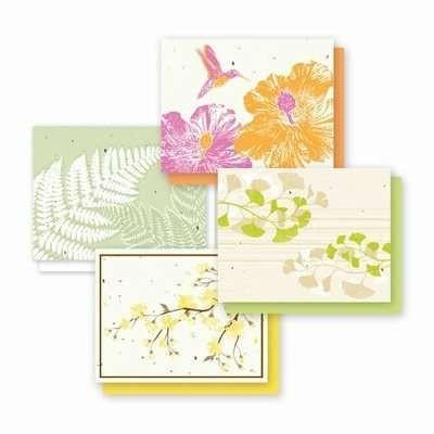 All Occasion Naturals Plantable Variety Greeting Cards - Fine Gifts La Bella Basket Company