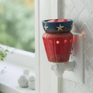 Americana Plug-in Warmer - Fine Gifts La Bella Basket Company