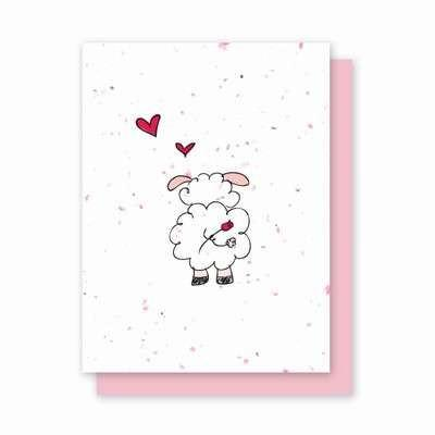 Any Day Ewe Plantable Greeting Cards - Fine Gifts La Bella Basket Company