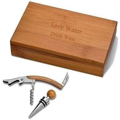 NEW Bamboo Wine Kit