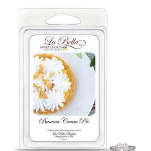 Banana Cream Pie Jewelry Tart Melts - Fine Gifts La Bella Basket Company