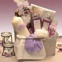 Bath and Body Spa Caddy Gift Basket - Fine Gifts La Bella Basket Company