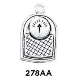 Bathroom Scales Charm Sterling Silver