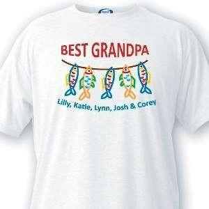 Best Grandpa T-Shirt - Fine Gifts La Bella Basket Company
