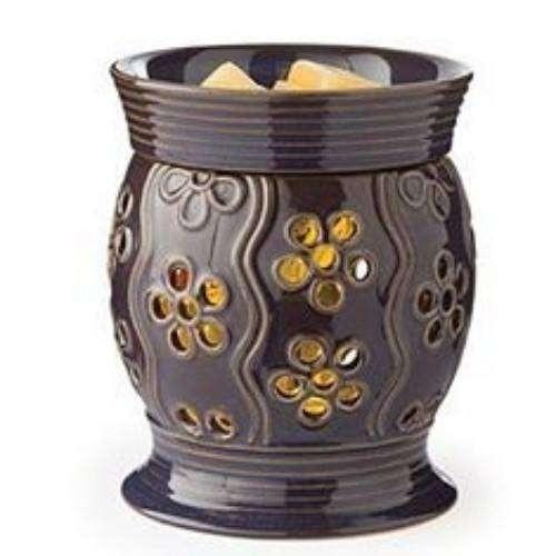 Bloom Glimmer Candle Warmer - Fine Gifts La Bella Basket Company