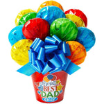 Best Dad Ever Cookie Bouquet - Fine Gifts La Bella Basket Company
