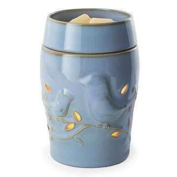 Blue Bird Candle Warmer Illumination or Plug In - Fine Gifts La Bella Basket Company