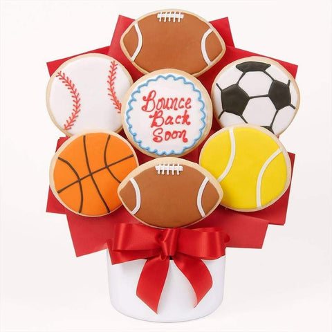 Bounce Back Soon Cookie Bouquet - Fine Gifts La Bella Basket Company