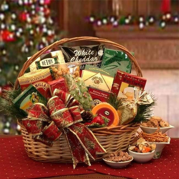 Bountiful Gourmet Gift Basket - Fine Gifts La Bella Basket Company