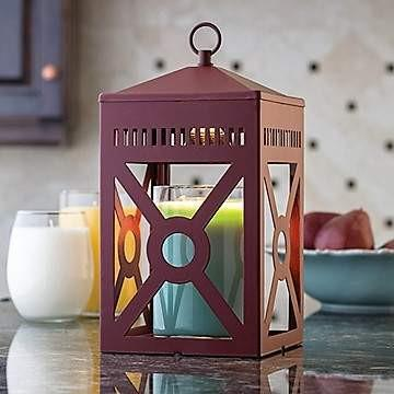 Brick Mission Lantern Warmer - Fine Gifts La Bella Basket Company