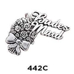 Bridesmaid Bouquet 2 Part Charm - Fine Gifts La Bella Basket Company