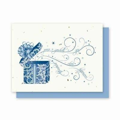 Bursting Present Plantable Greeting Cards - 25 Pack - Fine Gifts La Bella Basket Company