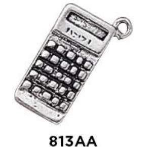Calculator Charm Sterling Silver - Fine Gifts La Bella Basket Company