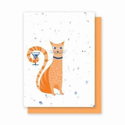 Catini Plantable Greeting Cards - 4Pk - Fine Gifts La Bella Basket Company