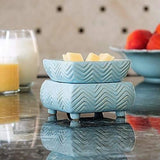 Chevron 2-in-1 Candle Warmer - Fine Gifts La Bella Basket Company