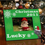 Christmas Picture Frames - Assorted Colors - Fine Gifts La Bella Basket Company