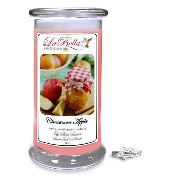 Cinnamon Apple Jewelry Candles - Fine Gifts La Bella Basket Company