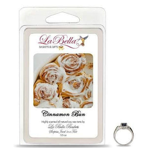 Cinnamon Bun Jewelry Soy Wax Jumbo Tart Melts - Fine Gifts La Bella Basket Company