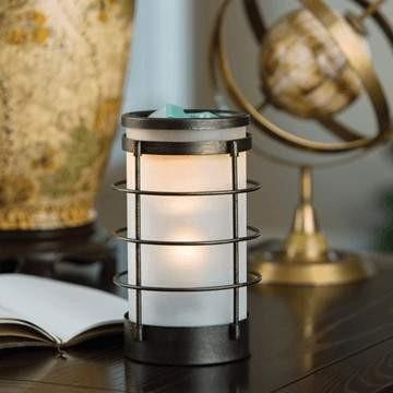 Coastal Metal and Glass Candle Warmer - Fine Gifts La Bella Basket Company