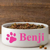 Colorful Classic Large Dog Bowl - Fine Gifts La Bella Basket Company