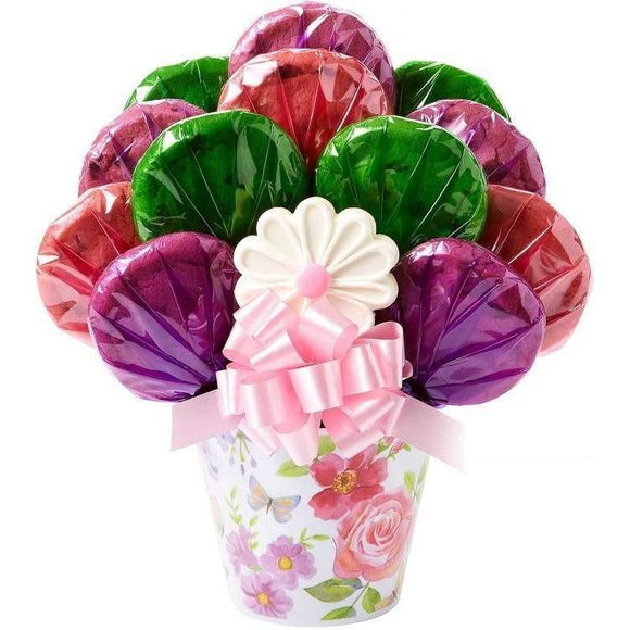 Cookie Bloom Cookie Bouquet - Fine Gifts La Bella Basket Company