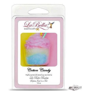 Cotton Candy Jewelry Soy Wax Jumbo Tart Melts - Fine Gifts La Bella Basket Company