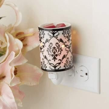 Damask Honeycomb Plug-in Warmer - Fine Gifts La Bella Basket Company