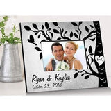 Etchings on the Tree Picture Frame - Fine Gifts La Bella Basket Company