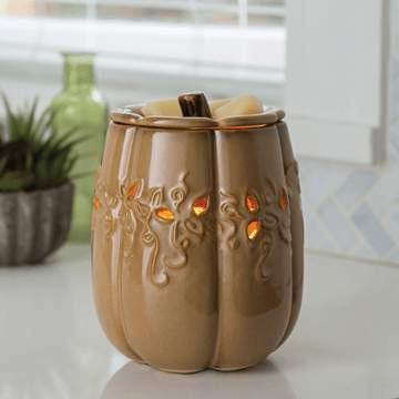 Fall Harvest Candle Warmer Illumination - Fine Gifts La Bella Basket Company