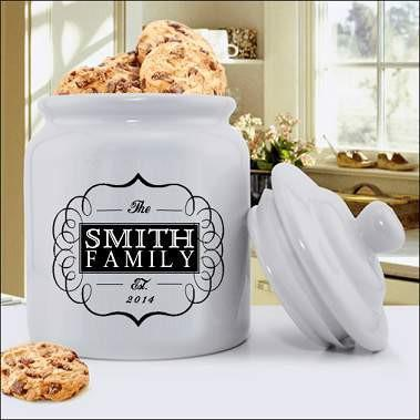 Family Designs Cookie Jar - Fine Gifts La Bella Basket Company