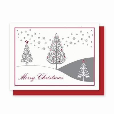 Festive Trees Plantable Greeting Cards - 5 Pack - Fine Gifts La Bella Basket Company