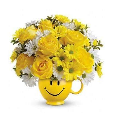 Flower Cup of Smiles - Fine Gifts La Bella Basket Company