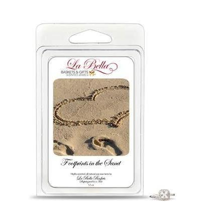 Footprints In The Sand Jewels Tart Melts - Fine Gifts La Bella Basket Company