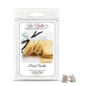 French Vanilla Jewelry Soy Wax Jumbo Tart Melts - Fine Gifts La Bella Basket Company
